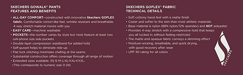 Skechers Go Walk Details