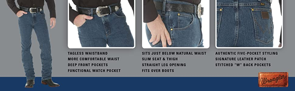 559e647a straight leg jeans, classic fit jeans, premium performance jeans, wrangler  premium performance