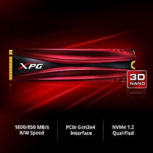 New XPG 128GB GAMMIX S10 m.2 NVMe Solid State Drive SSD 128 GB