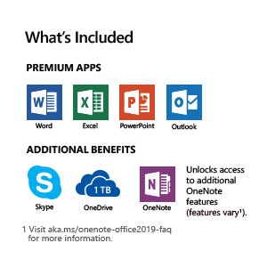 Microsoft Office 365 Personal | 1-year subscription, 1 user, PC/Mac Key Card