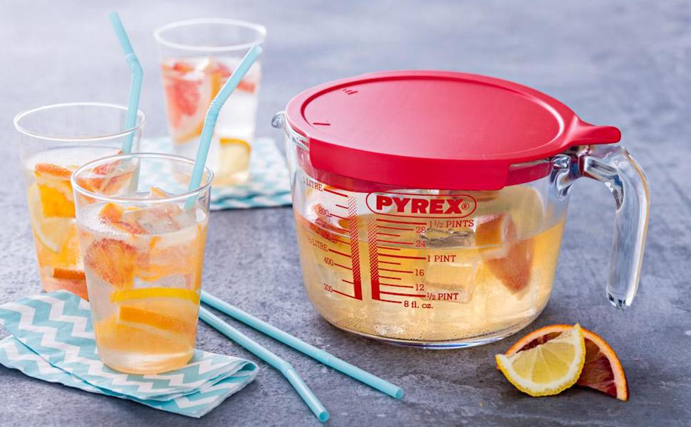Pyrex, Pyrex Australia, Pyrex Jug with lid, Pyrex jug