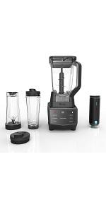 Ninja, Smart Screen, Blender, DUO, FreshVac, for shakes and smoothies, baking, ninja blender