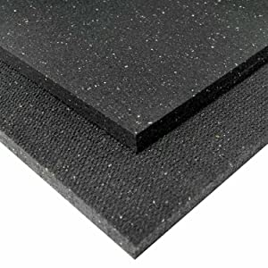 Shark tooth, rubber mat