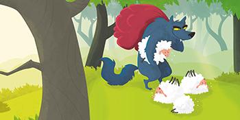 Pedro y el lobo: Cuentos tradicionales: Libro infantil
