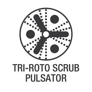 Tri-Roto Scrub Pulsator