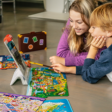 use your imagination as you review world locations and learn real facts osmo educational toys