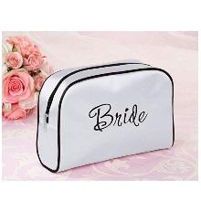 White Bride Travel Accessory Makeup Bag