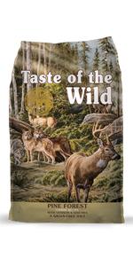 Pine Forest, Venison dog food