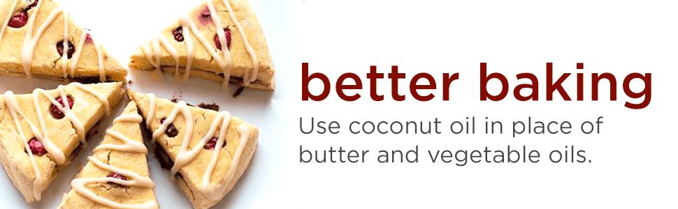 baking coconut oil
