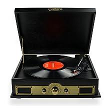 MB-USBTR98 VINTAGE TURNTABLE USB RECORD PLAYER
