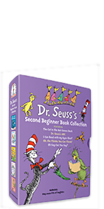 Dr. Seuss's Second Beginner Book Collection alphabet books doctor gifts book sets