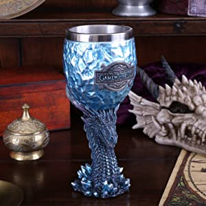 NEW GAME OF THRONES GOBLET SEVEN KINGDOMS RESIN DRINKWARE NEMESIS NOW BOXED