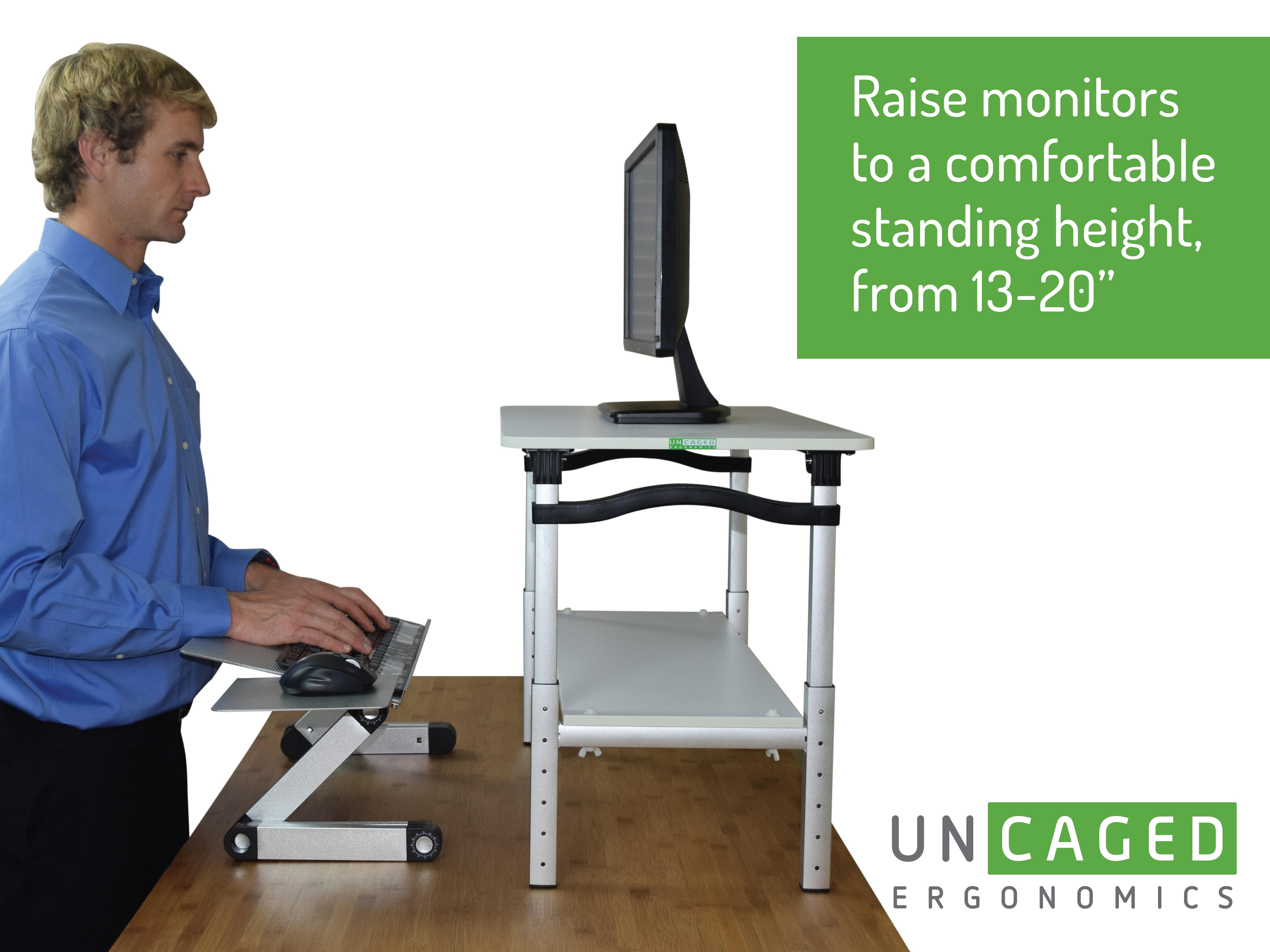 Amazon Com Lift Standing Desk Conversion Kit Tall