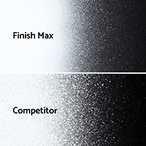Finish Max spray finish compared to other sprayers