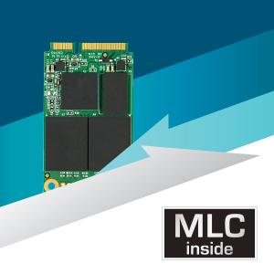 MLC NAND flash memory inside.