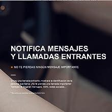 Leotec Smartwatch Unisex Adultos de Digital con Correa en Caucho ...