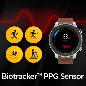 Sensor PPG y motor de datos basado en AI Realbeats