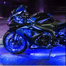 blue rock lights, atv underglow light kit, UTV accessory, atv accessory, golf cart underbody lights