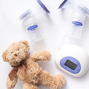 Lansinoh Signature Pro Double Electric Breast Pump Bombas de mama extrator de leche Lanolina