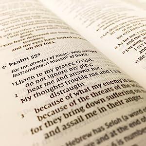 Comfort Print; Bible Verse; Psalm 55