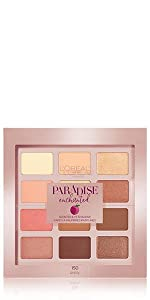 loreal, makeup, paradise, enchanted eye shadow, eye shadow palette, eye makeup, shadow