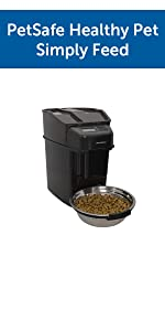 feeder pet cat dog food bowl dispenser dispense feed automatic robot