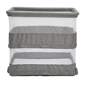 simmons kids safe sleeper bassinet mesh