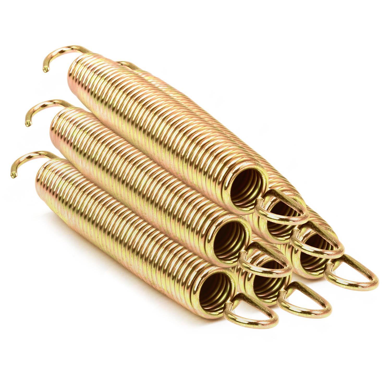 Trampolin awm/® 4x 13,5 cm 135 mm Federn Sprungfedern Spiralfedern Zubeh/ör Ersatzteil