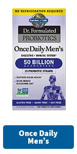 once daily men's probiotics