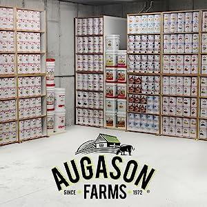 Augason Farms Long Term Food Storage Bunker Shelter