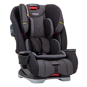 ee3a4c7a0e9 Graco Milestone All-in-One Car Seat, Group 0+/1/2/3, Aluminium ...