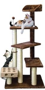 Tiger Tough Double Decker Playground · Tiger Tough Platform House Cat Tree · Tiger Tough Home Base Cat Tree · Tiger Tough Play Stairs Cat Tree ...