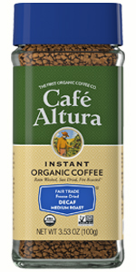 Cafe Altura Instant Decaf Coffee