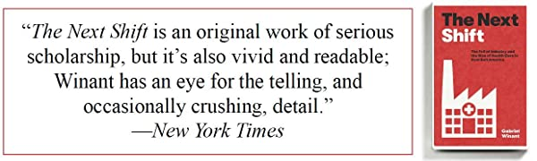 Book image of The Next Shift with New York Times quote
