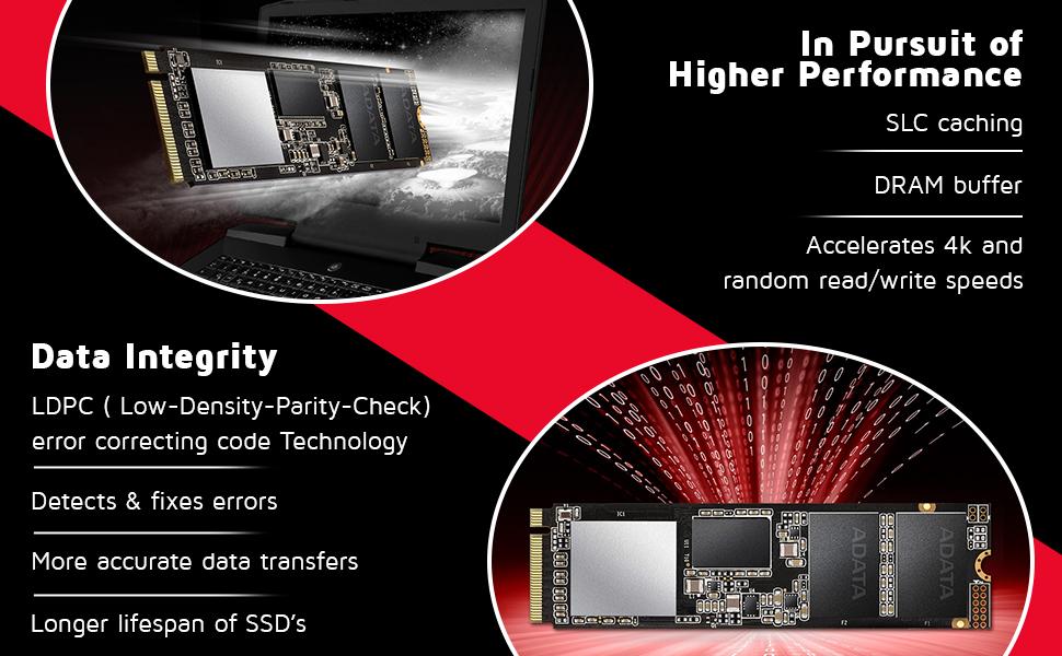 XPG SX8200 Pro 512 جيجا بايت 3D NAND SPN-FOR1