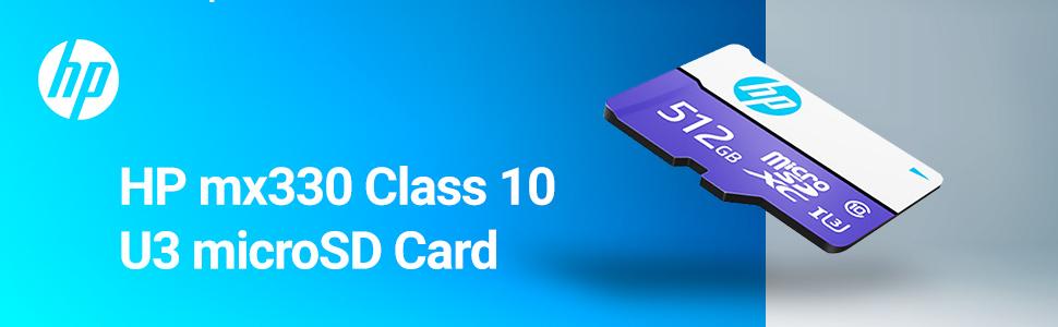 HP mx330 Class 10 U3 microSD