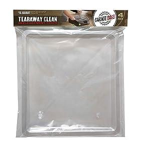 Amazon Com Garageboss Gb016 16 Quart Oil Tear Away Clean