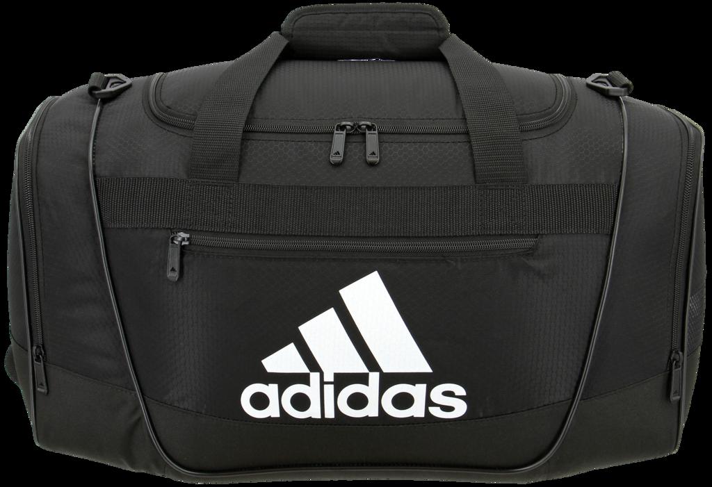 adidas Defender III Duffel athletic bag gym team travel 1438eaf67e