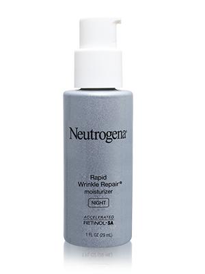 neutrogena cream; night cream; face cream; face moisturiser; anti-ageing cream; rapid wrinkle cream;