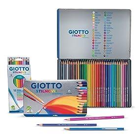 matite colorate; matite acquerellabili; acquarellabili; giotto