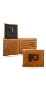 wallet,mens wallet,wallet for women,wallet for men,leather wallet,NHL,Flyers,Philadelphia Flyers