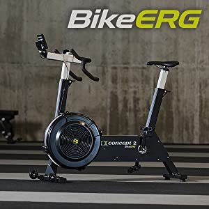 Concept2 BikeErg stationary bike for exercise, conditioning and strength training