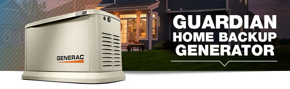 Guardian Series, Home Back Generator, Generator, backup power, power, Generac, Home Standby
