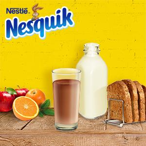 Nesquik Extrachoc - Cacao Soluble Instantáneo - 3 Paquetes de 390 g