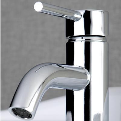Kingston Brass Ls8220dl Concord Single Handle Monoblock Lavatory Faucet Matte Black Touch On