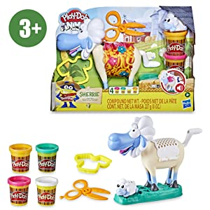 Play-Doh- Oveja Divertidos Peinados