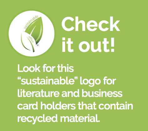 Amazon deflecto sustainable office recycled business card green office products sustainable office collection from deflecto reduce reuse recycle colourmoves