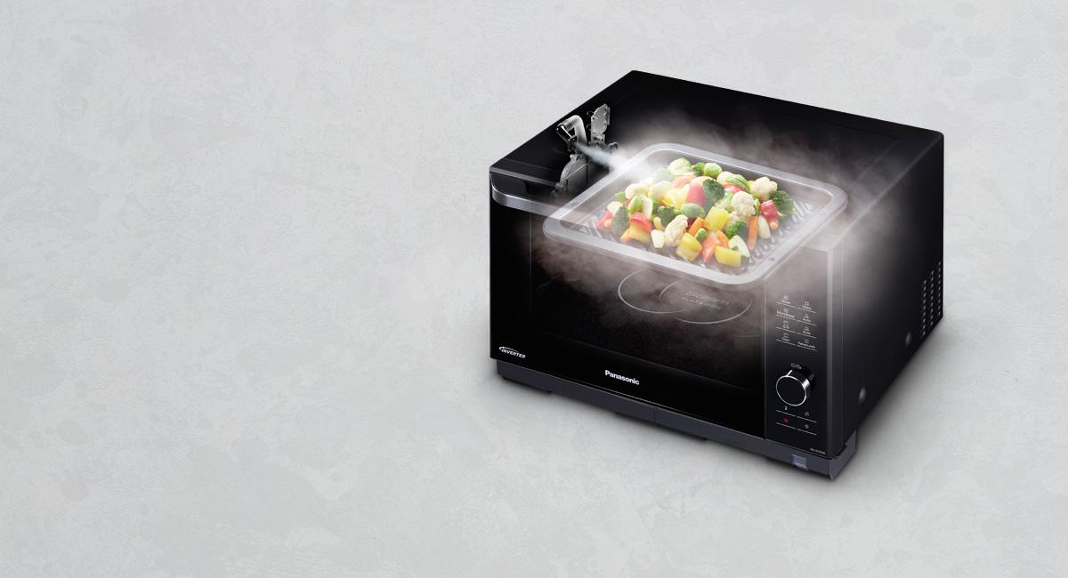 Panasonic Nn Ds596bbpq 4 In 1 Steam Combination Microwave