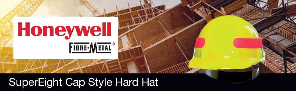 hard hat, construction hard hats, cap style hard hats, fibre-metal hard hat