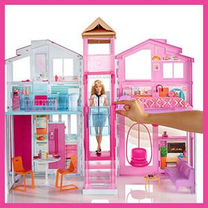barbie dly32 maison de luxe jeux et jouets. Black Bedroom Furniture Sets. Home Design Ideas